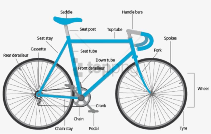 Free Png Download Gmc Denali Bicycle Black And Yellow Bike Anatomy Transparent Png 850x501 Free Download On Nicepng