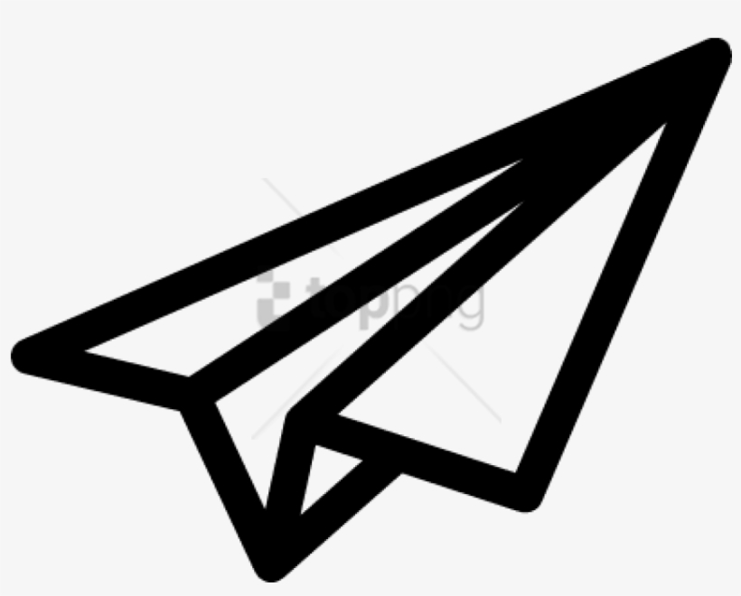 Free Png Download Paper Airplane Symbol Png Images Paper Plane