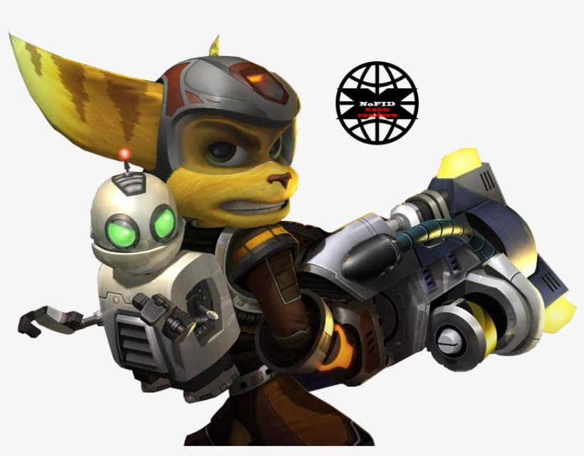 Render Ratchet Et Clank Playstation 2 Transparent Png 1024x671