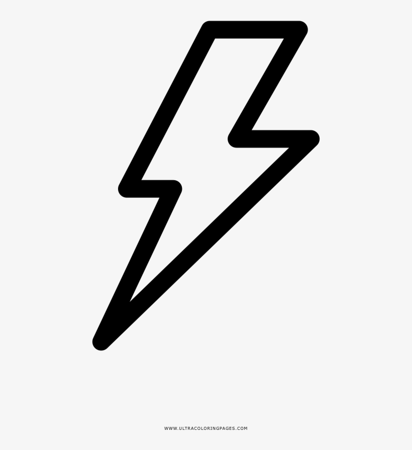 Lightning Bolt Coloring Page Vector Graphics Transparent Png 1000x1000 Free Download On Nicepng