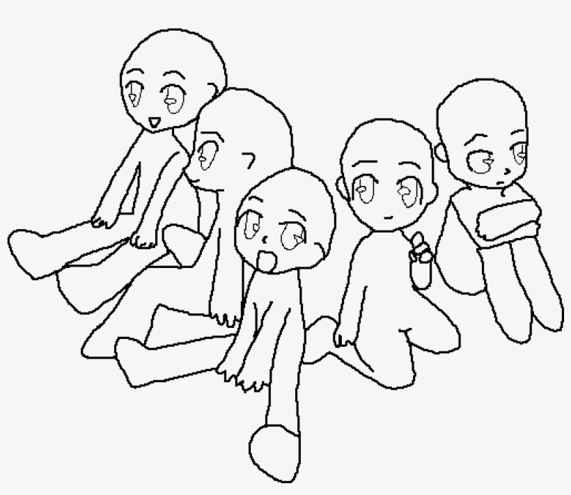 Family Base Base Drawing 4 Group Transparent Png