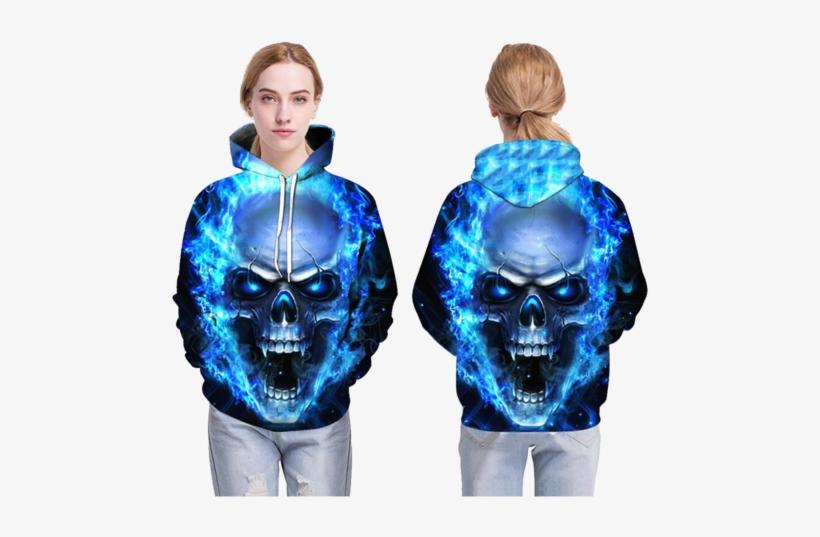 28+ Blue Flaming Skull Pics PNG