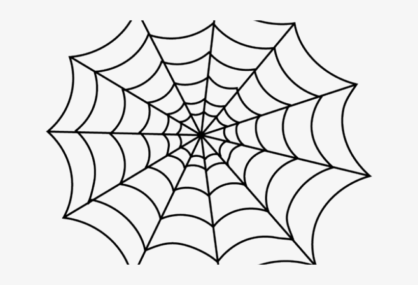 Spiderman web. Spider clipart black and