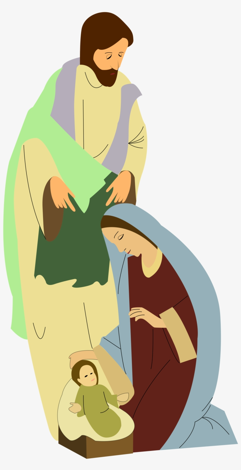 Nativity Scene Clip Art Transparent Png 566x800 Free Download On Nicepng