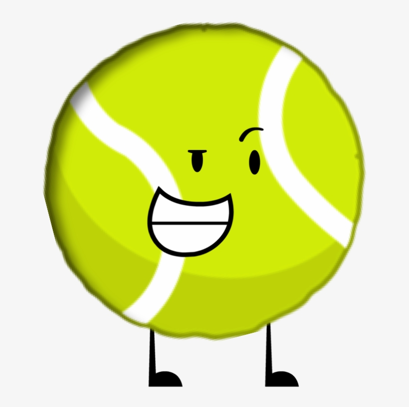 Tennis Ball Clipart Bfdi - Battle For Dream Island Tennis Ball