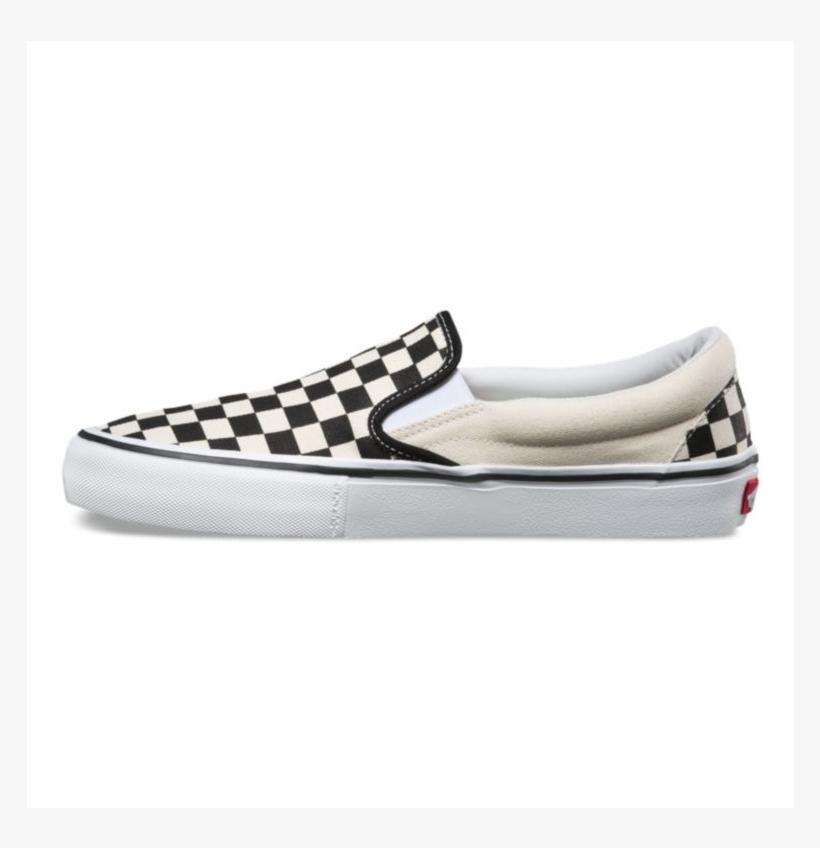 Vans Checkerboard Slip On Pro Black And White Checkered