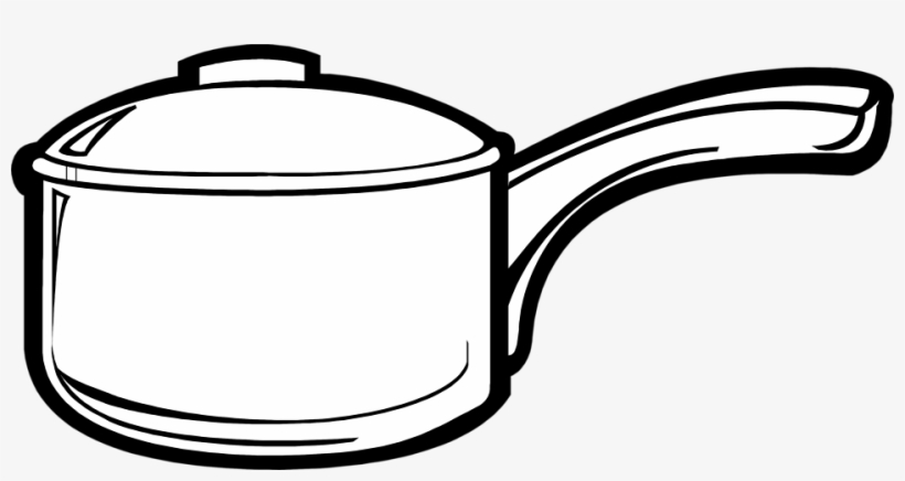 28 Collection Of Cooking Pot Clipart Outline Kitchen Utensils Black And White