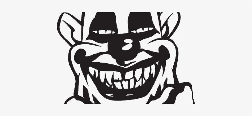 Clown Clipart Scary Clown Sticker 13 Transparent Png 450x300