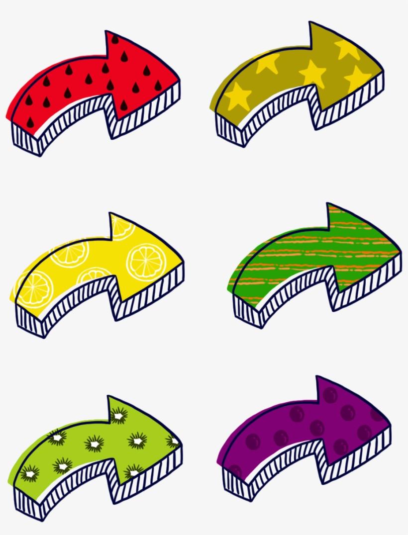 Flèche Fruit Coloré Dessin Animé Png Et Psd Transparent Png