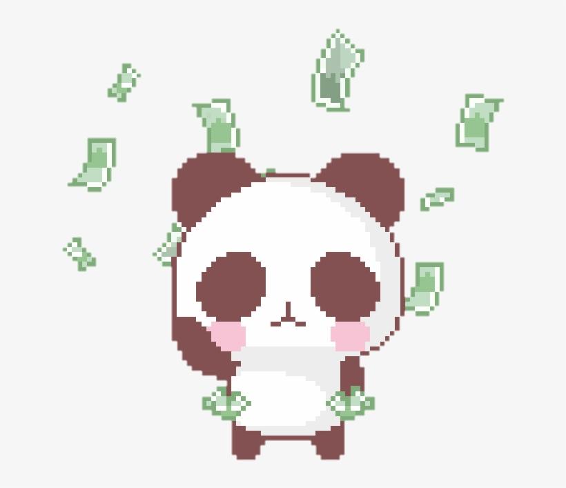 Cash Clipart Kawaii Panda Taco Gif Transparent Png