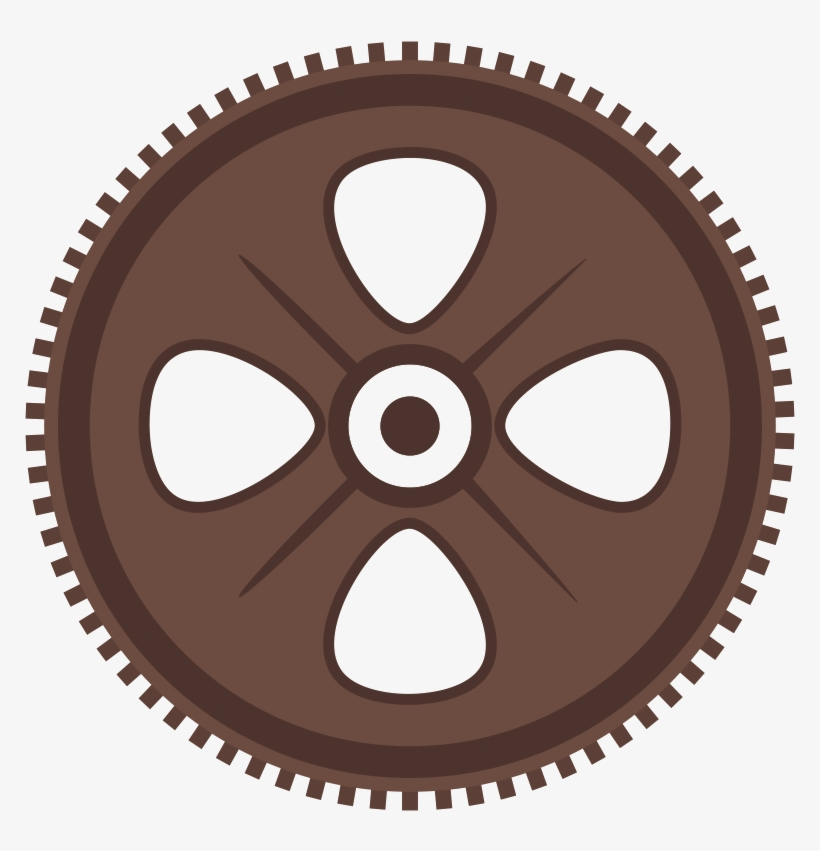 Cog Icon - Ring Gears Transparent PNG - 1024x1024 - Free