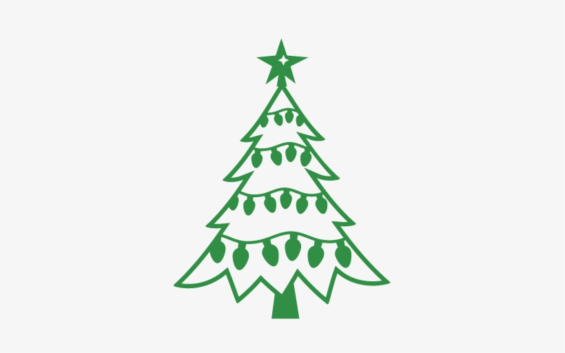 Christmas Tree Svg Free Download.Christmas Lights Clipart Svg Christmas Tree Svg Free