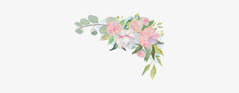 Floral Corner Png Transparent Flower Corner Border