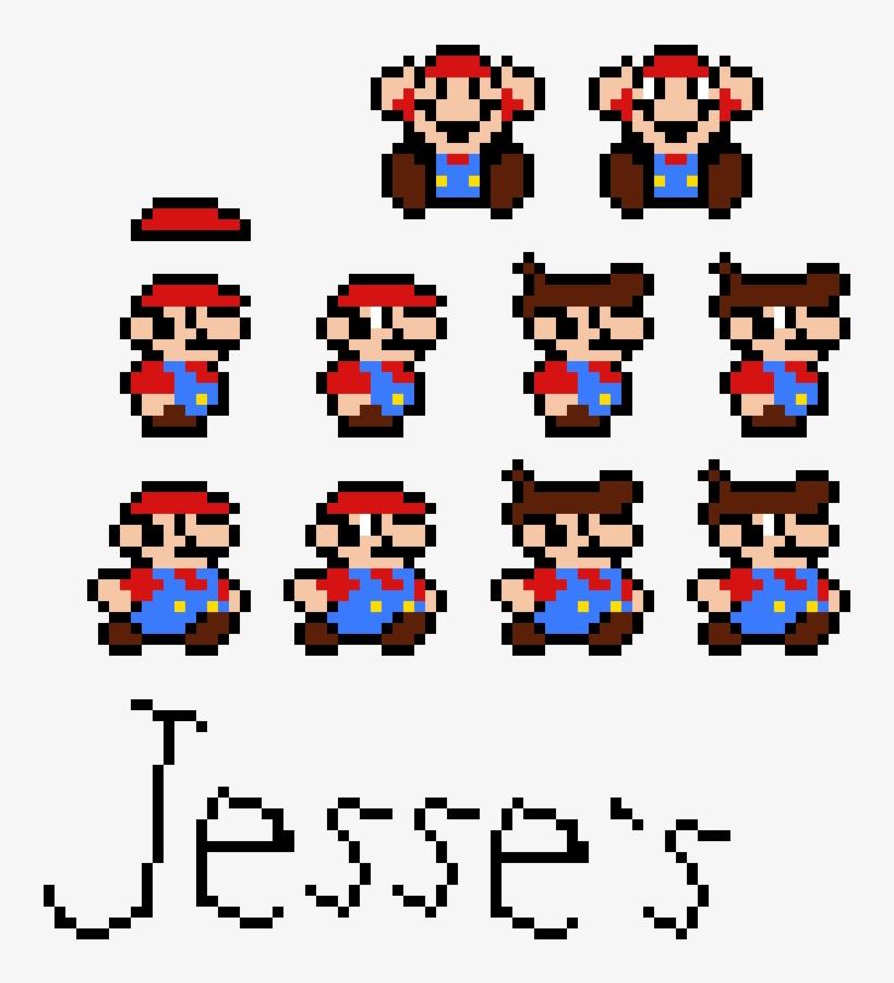 Jesse S Custom Small Mario Sprites Transparent Png 860x910