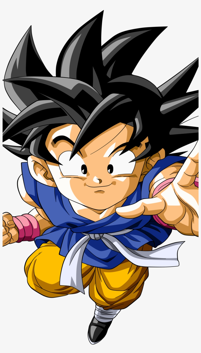 Kid Goku Anime Dragon Ball Gt Mobile Wallpaper Hypebeast