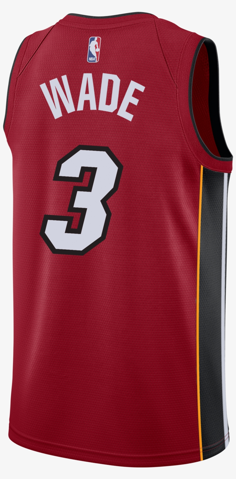 innovative design 2f98e 2c578 Dwyane Wade Nike Miami Heat Statement Red Swingman - Miami ...