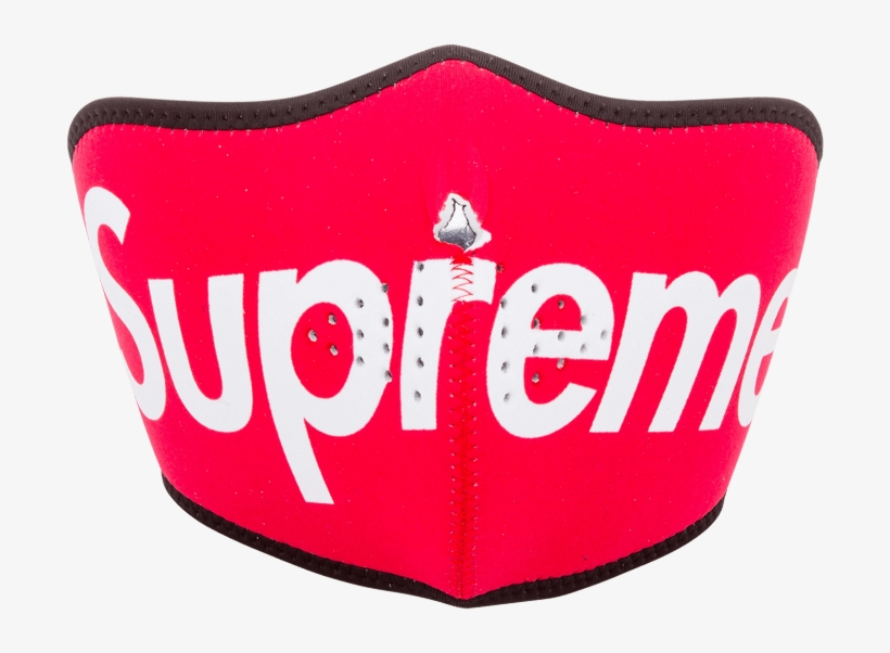 Supreme Neoprene Face Mask Photo - Supreme Face Mask Png