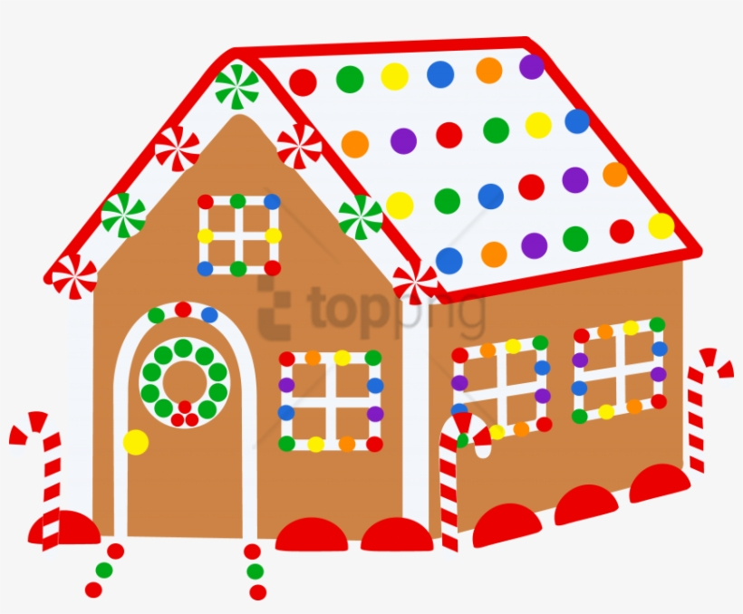 Christmas Gingerbread House Drawing.Free Png Download Christmas Houses For Drawing Png