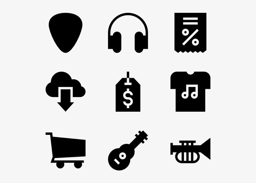 Vector Library Library Icons Free Music - Reception Vector