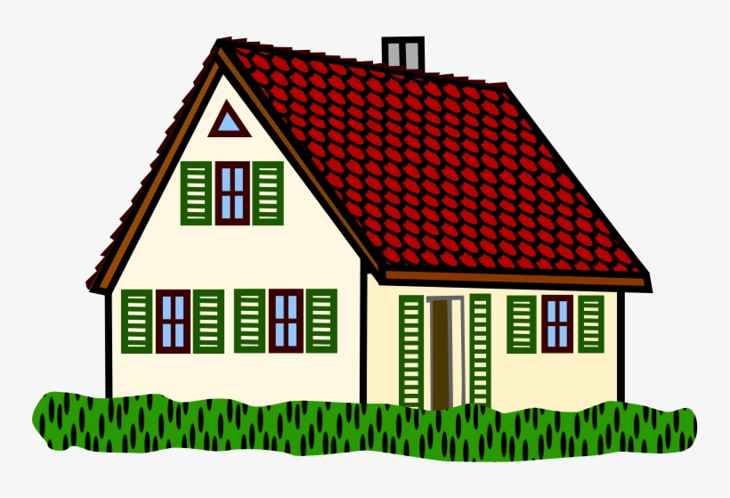 Roof Clipart Simple House Outline Houses Clipart