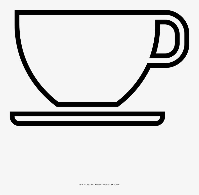 Dibujo De Taza De Café Para Colorear Dibujos De Tasas Para
