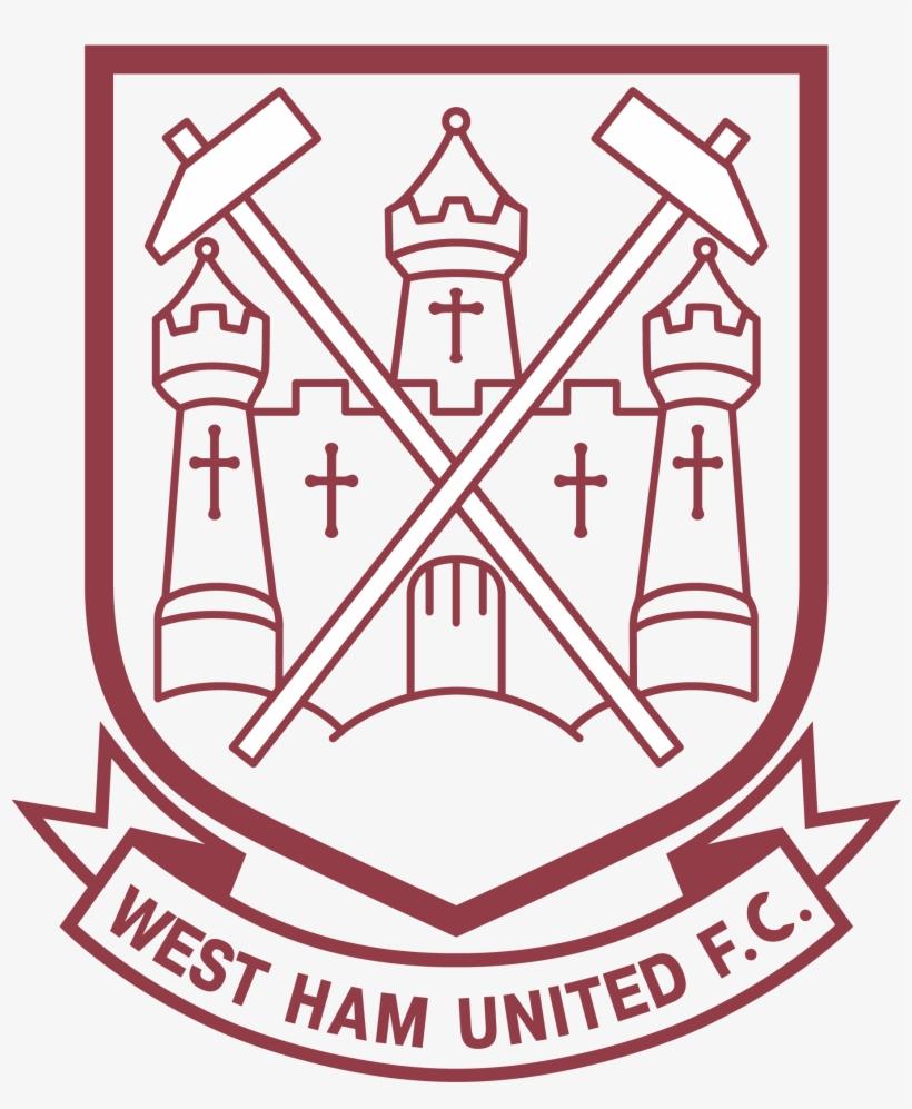 West Ham Old Logo West Ham United Line Logo Transparent Png 3840x2160 Free Download On Nicepng