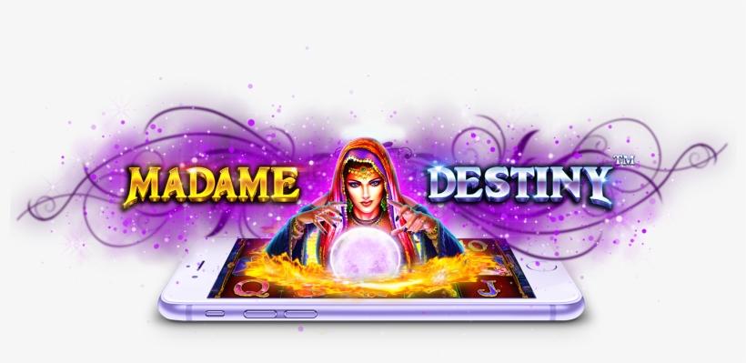 Madame Destiny Pragmatic Play Games Madame Destiny Slot Transparent Png 1680x715 Free Download On Nicepng
