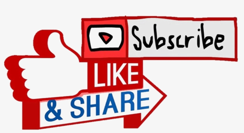 Youtube Subscribe Button Transparent Background Transparent
