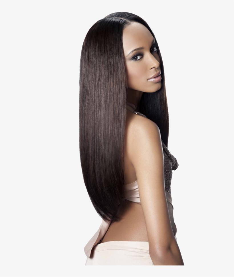 Virgin Hair Bundles   Straight Weave Hairstyles Transparent PNG ...