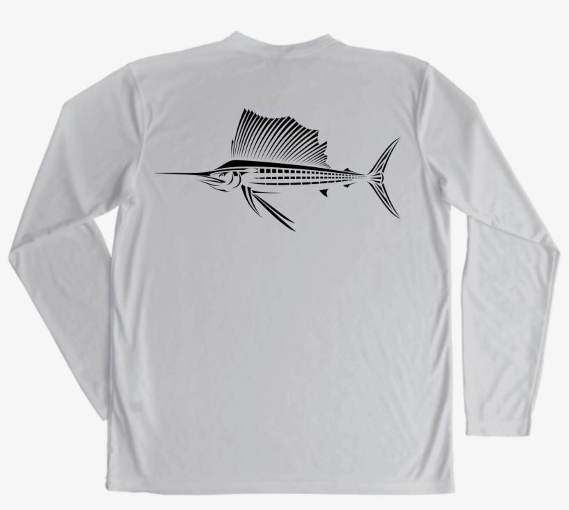 Sailfish Performance Fishing Shirt Transparent PNG