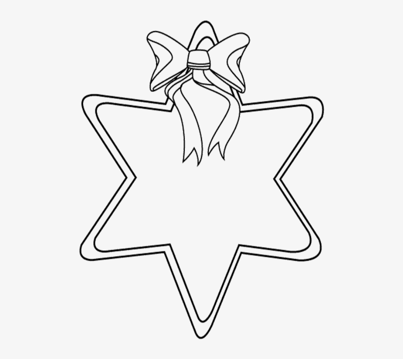 Christmas Shooting Star coloring page | Free Printable Coloring Pages | 731x820