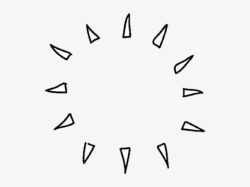 Png Blanco Adornos Tumblr Portadas - Sticker Png Overlay