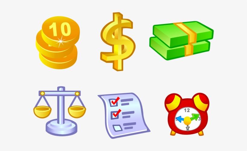 Free Vector Money Icons Thumb