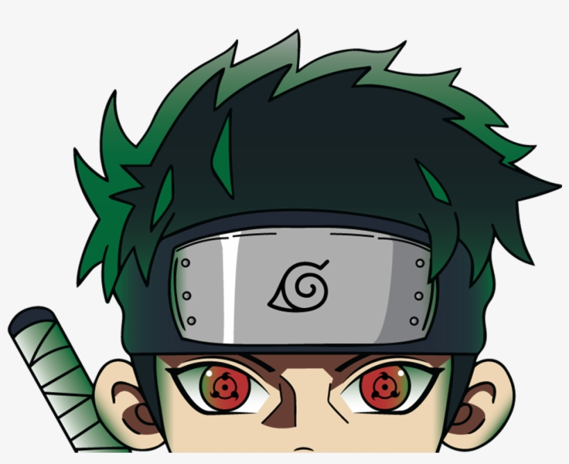 Image Of Shisui Uchiha Peeker Cartoon Transparent Png 2550x810 Free Download On Nicepng