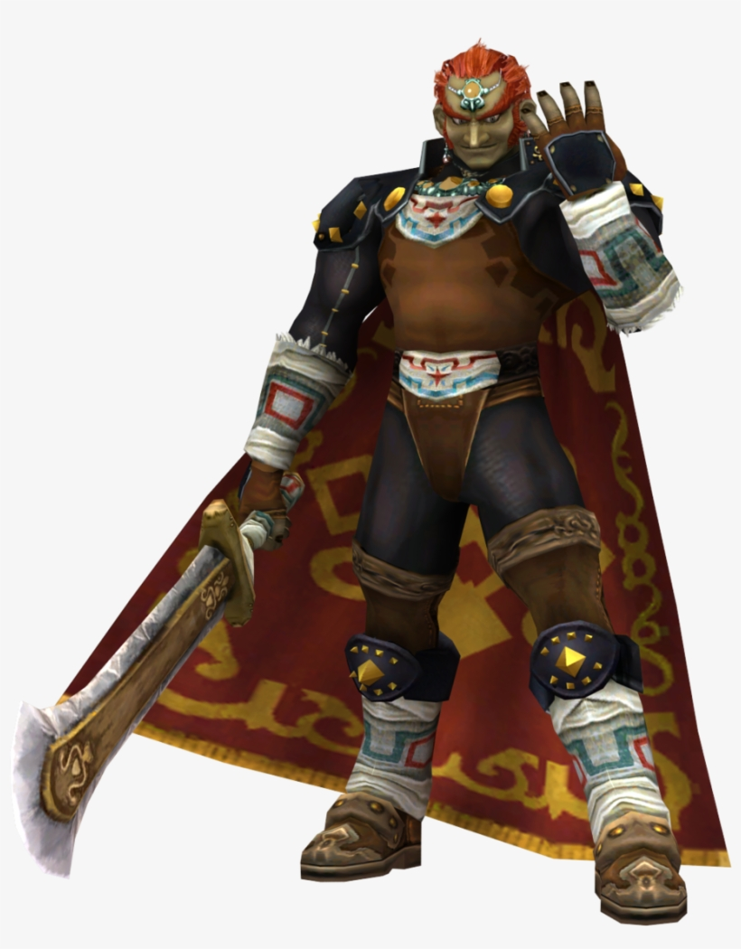 A - Ganondorf Ocarina Of Time 3ds Transparent PNG