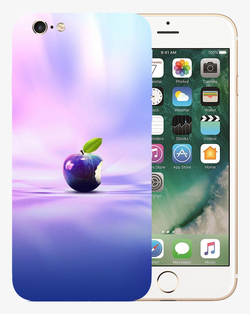 Apple Art Printed Case Cover For Iphone 6 By Mobiflip - Iphone 6