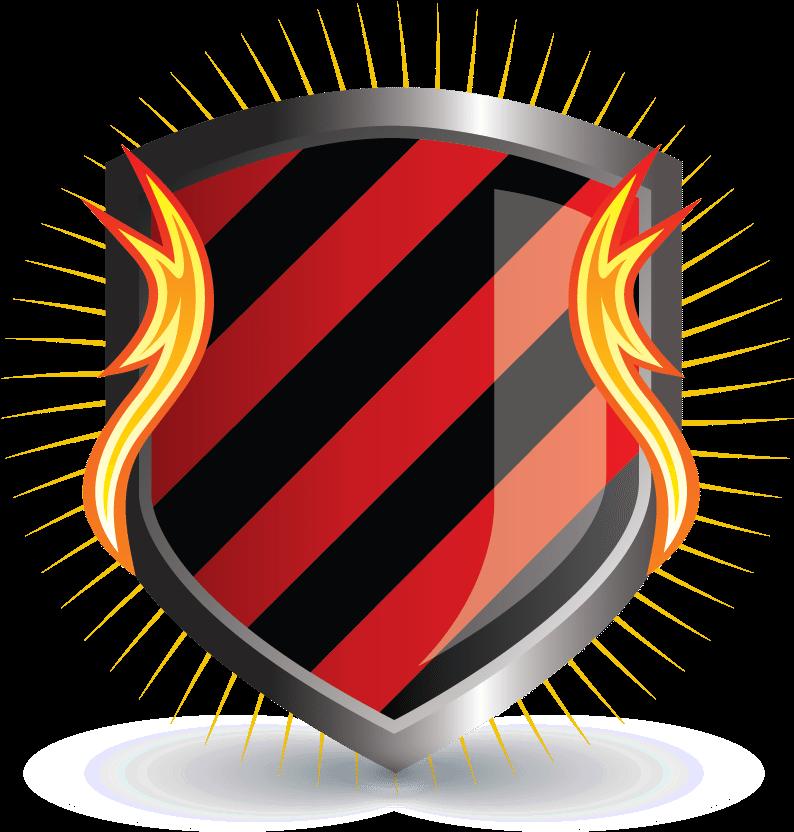 download hd logo shield design design free logo initials fire shield free fire logo png transparent png image nicepng com download hd logo shield design design