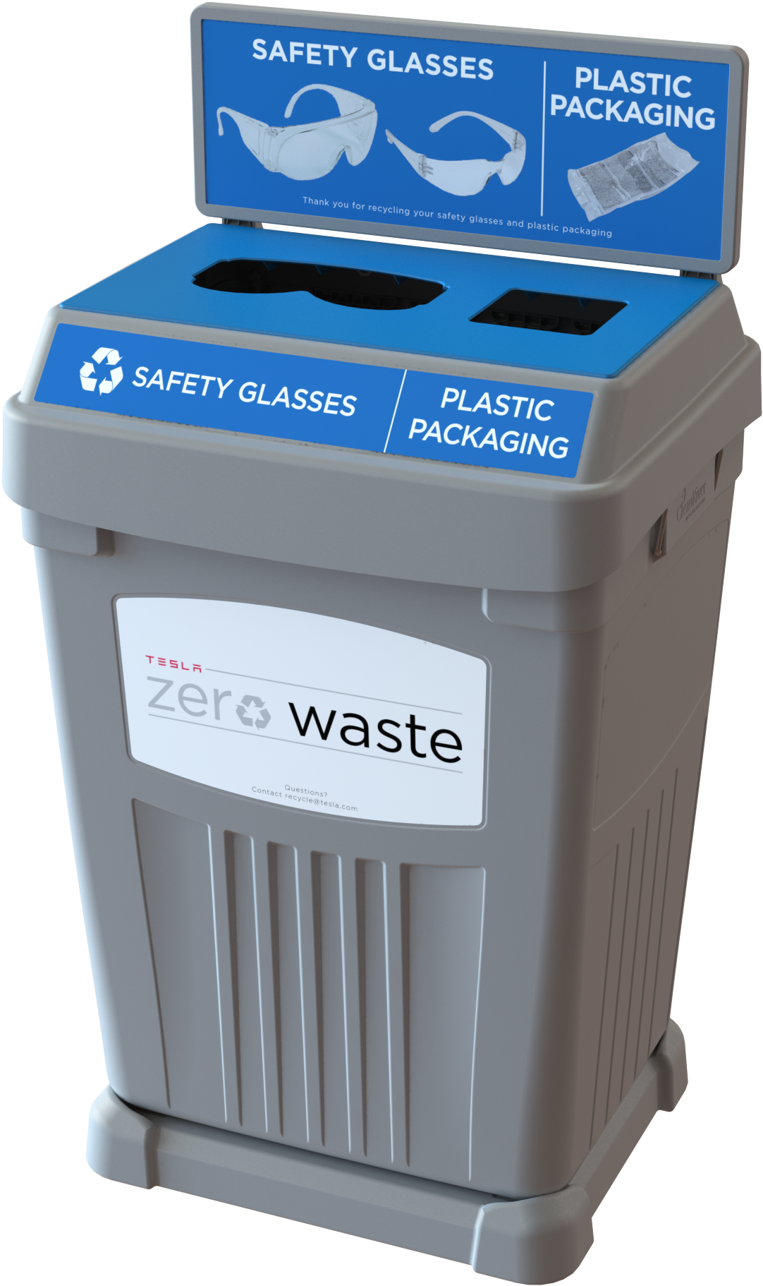 Download HD Flex E™ Bin To Collect Tesla Safety Glasses - Safety