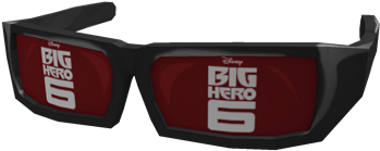 Download Hd Big Hero 6 Glasses Roblox Big Hero 6 Transparent Png Image Nicepng Com