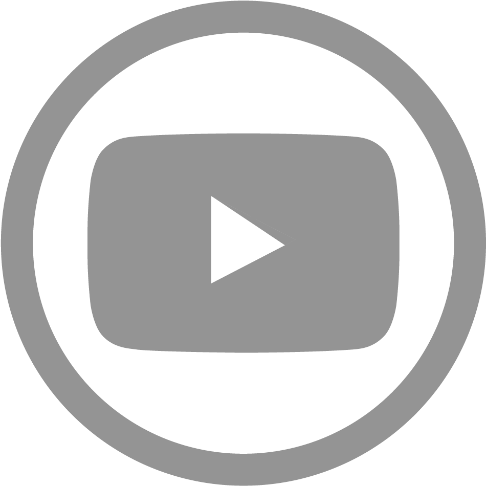 Download Hd Youtube Icon Grey Png Transparent Png Image Nicepng Com