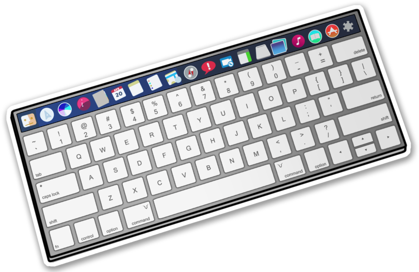 Minsk, belarus 5 oct, 2017: magic keyboard made by apple inc.