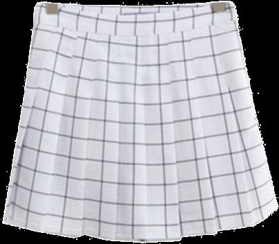 Download Hd Itgirl Shop Grid School Short Pleated Skirt Aesthetic