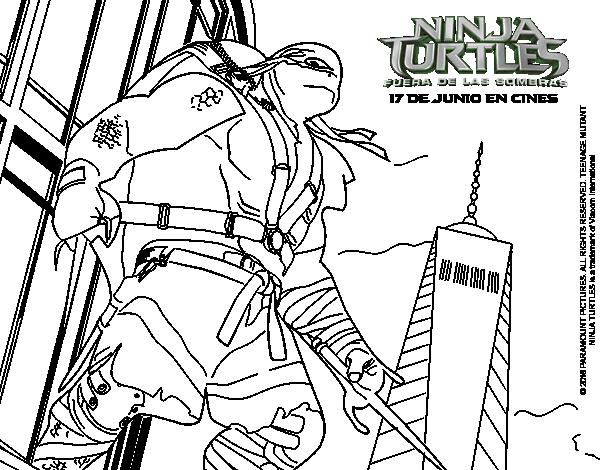 Teenage Mutant Ninja Turtles Raphael Coloring Pages - Get Coloring ...   470x600