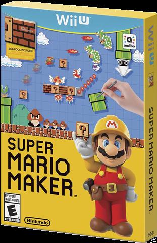 Download HD Super Mario Maker Box Art - Super Mario Maker