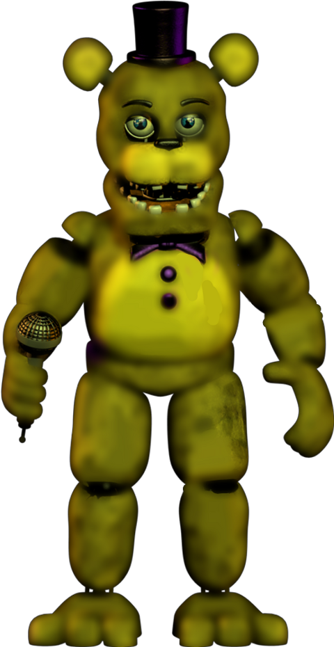Download HD Unwithered Freddy Transparent PNG Image