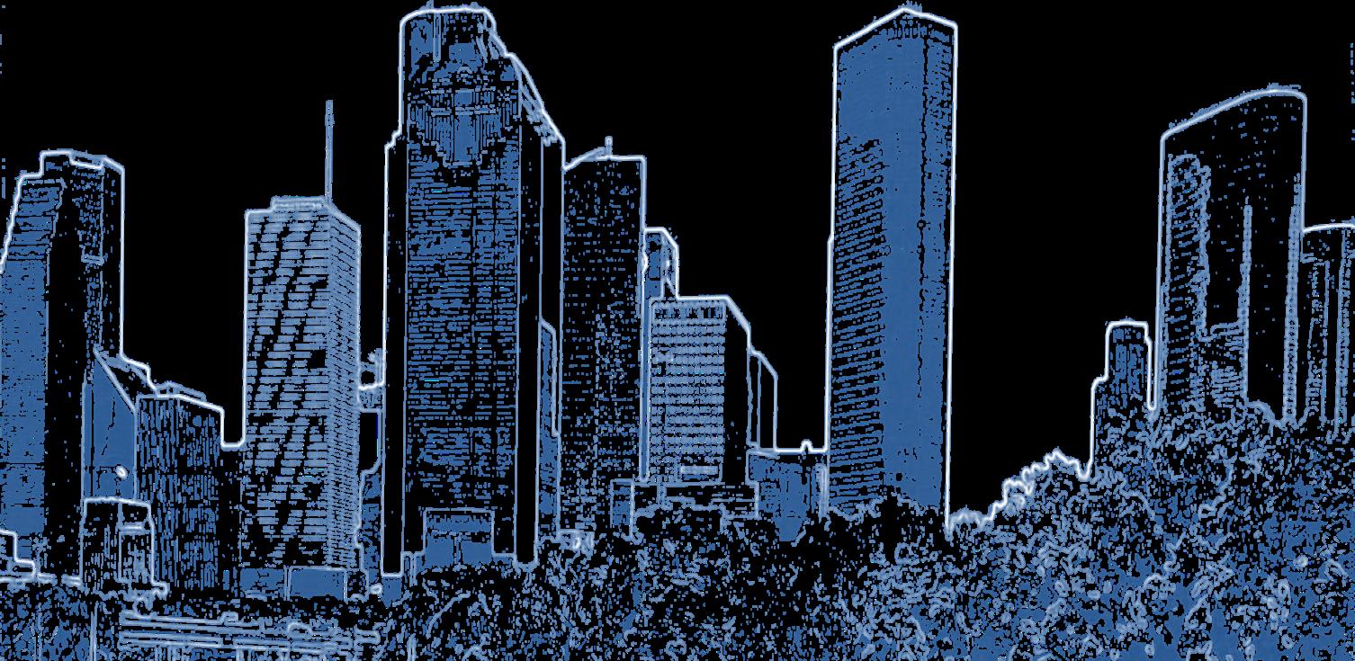 Download Hd Houston Skyline Sketch Transparent Png Image Nicepng Com
