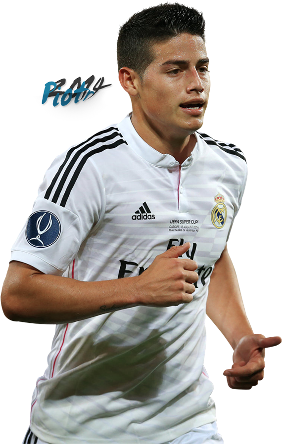 Download Hd Real Madrid Photo Zpsb6092f01 James Rodriguez Render Real Madrid 2016 Transparent Png Image Nicepng Com