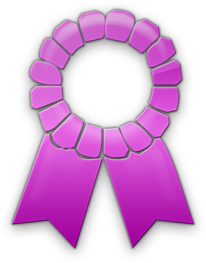 Download Hd Award Ribbon Template Png Download Award Ribbon
