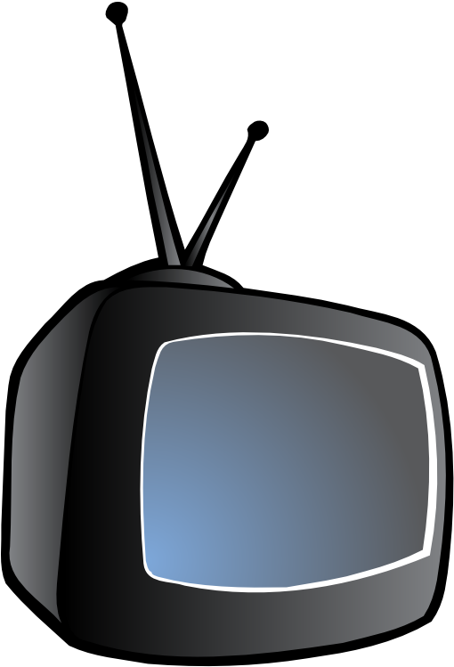 Download Hd Television Free To Use Clipart Old Tv Side Png