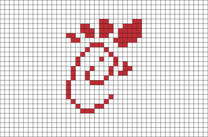 Download Hd Dessin Pixel Art Smiley Transparent Png Image
